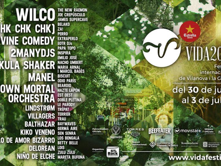 Vilanova i la Geltrú acull una nova edició del Vida Festival