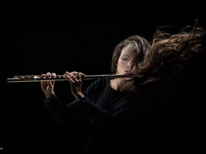La flautista Elisabet Franch s'estrena com a solista davant la Banda Municipal al Teatre-Auditori Sant Cugat