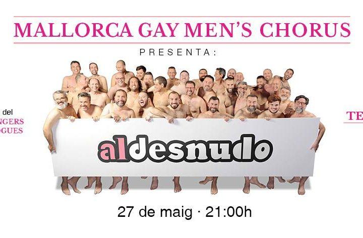 El Mallorca Gay Men's Chorus presenta 'Al desnudo' al Teatre Victòria