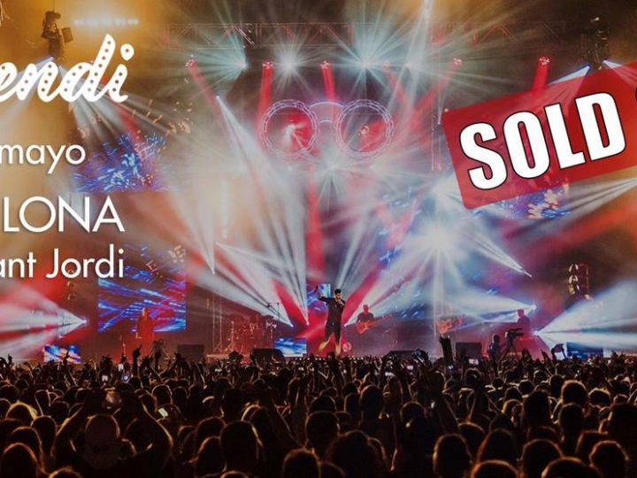 Melendi cantarà demà al Palau Sant Jordi amb un 'sold out'