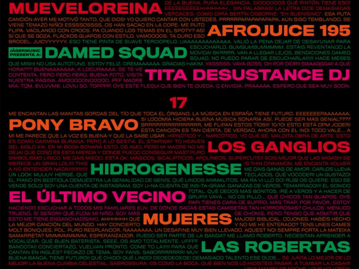 Mujeres i Afrojuice 195 s'afegeixen al cartell del Festival Cara•B