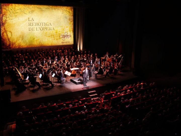 Simfonova presenta el concert 'La Rebotiga de l'Òpera' al Liceu
