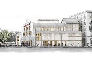 """""""Boca a Boca"""" és la proposta guanyadora per a la rehabilitació del Teatre Arnau"""