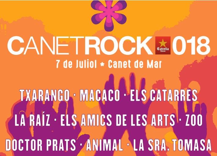 CANETROCK 2018 celebra la seva 5a edició amb Macaco, La Raíz, Els Catarres, Els Amics de les Arts i Txarango2018