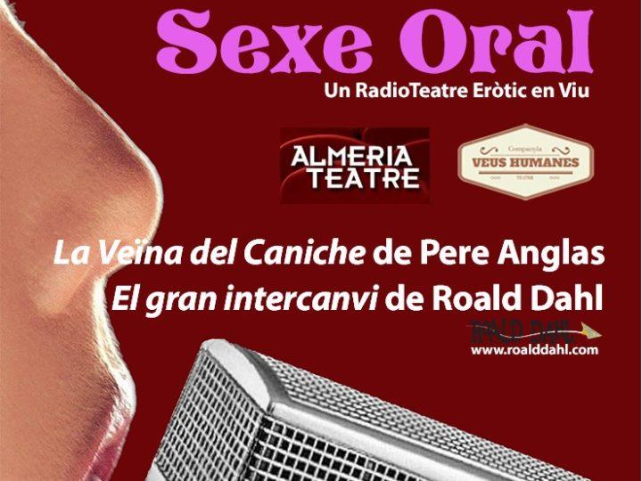 Sexe Oral, nou espectacle de la companyia Veus Humanes al Teatre Almeria.