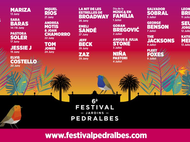 El Festival Jardins Pedralbes arriba a la seva VI Edició