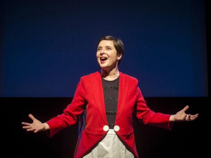 El Teatre Akadèmia acull el retorn d'Isabella Rosellini amb quatre úniques funcions