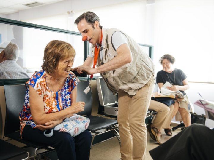 Els Pallapupas potencien les ganes de riure dels pacients adults de càncer