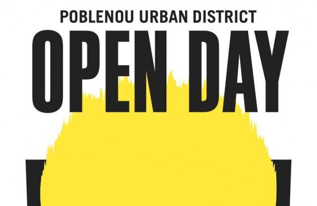 Cartell del Poblenou Open Day