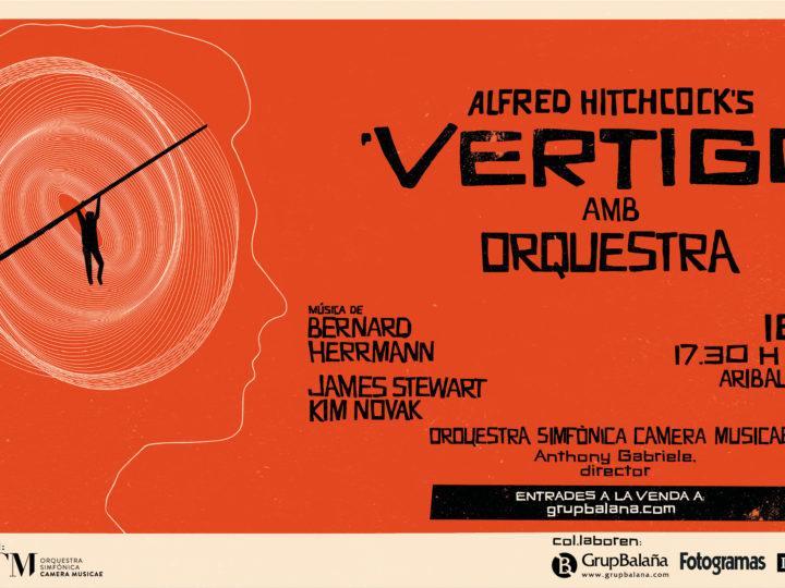 La Orquestra Simfònica Camera Musicae interpretarà en directe la banda sonora de 'Vertigo' amb la projecció del film