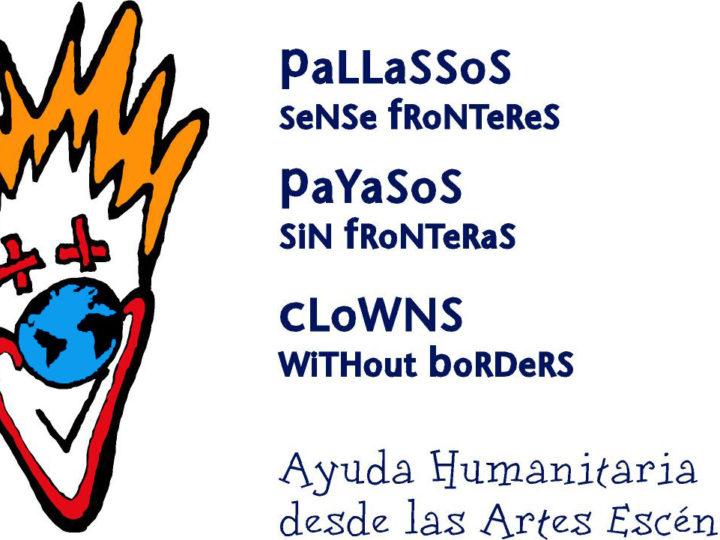 Pallassos Sense Fronteres i el Lliure, junts per fer somriure els infants en risc d'exclusió social del Poble Sec