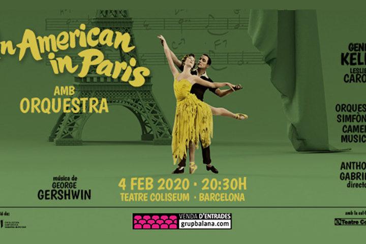 An American in Paris amb orquestra en directe al Teatre Coliseum