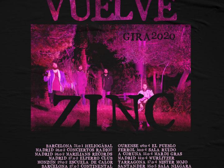 VUELVE ZINC | Nueva canción y gira
