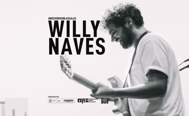 Willy Naves inicia la gira de concerts GPS