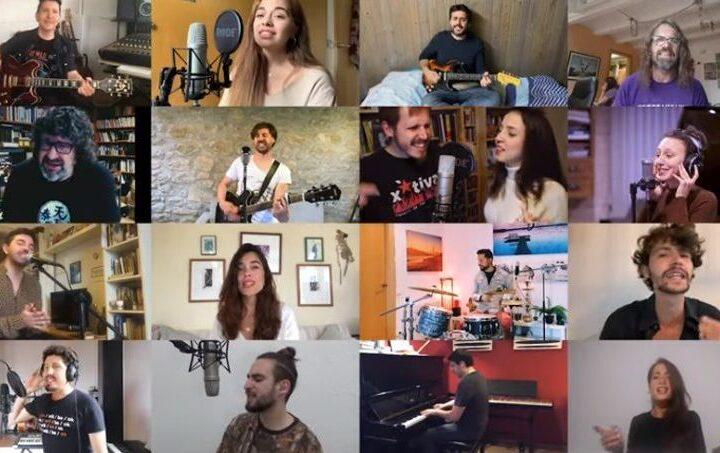 Una vintena d'artistes s'uneixen per interpretar la cançó 'UN SANT JORDI DIFERENT